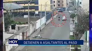 Víctor Larco: Detienen a asaltantes al paso