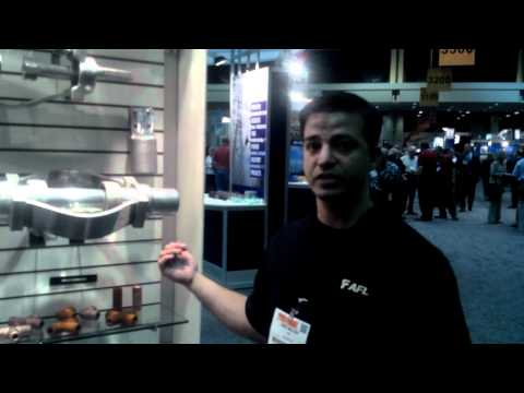 Eric talking about our substation accessories at 2012 IEEE PES T&D