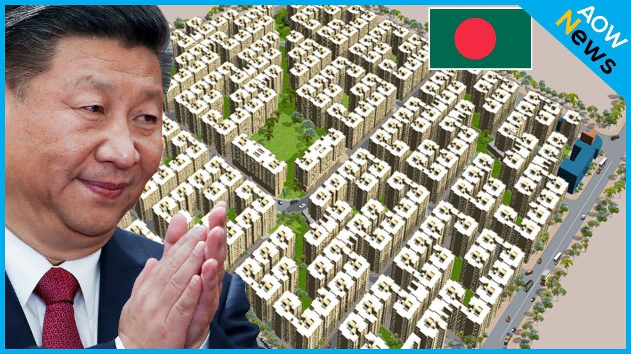 বাংলাদেশের উন্নয়নে অনবদ্য চীন- হাসিনা !! চীনের কল্যাণে সুন্দর আবাস বস্তিবাসীর !! China Bangladesh