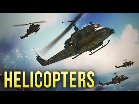 COMBAT HELICOPTERS IN WAR THUNDER