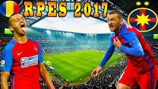 PES 2017 Romania Cariera cu Steaua - Golubovic In Forma Maxima