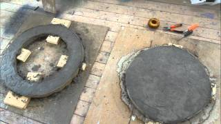 Люк из бетона своими руками