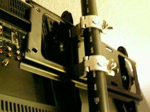 2 Lcd Flat Screens On Dj Truss Dj Tip Mounting Lcd S