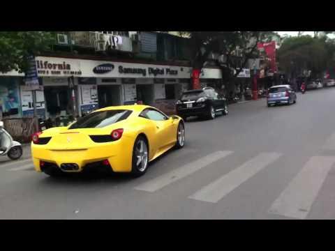 Ferrari 458 in Hà Nội