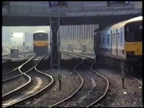 Nottingham Railway Station, April 1987 - Part 2