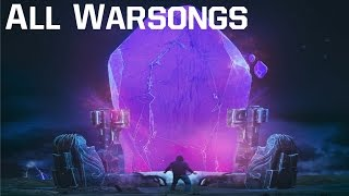 ALL WARSONGS【LEAGUE OF LEGENDS MUSIC 2016】