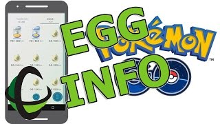 How To: EGGS Hatching Info & More! - Pokemon GO