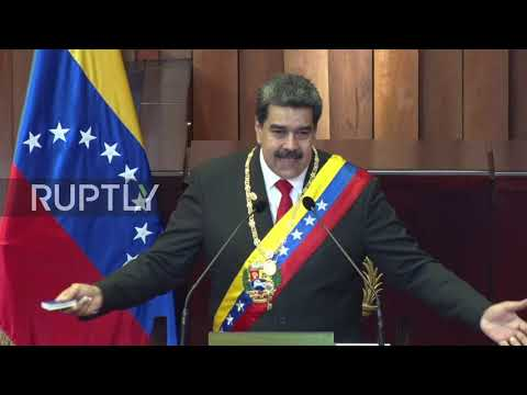Venezuela: Maduro sworn in for second term as President