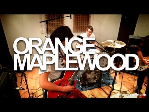 Post Grunge : Orange Maplewood Live @ White Noise Sessions Streams 28 October 2012
