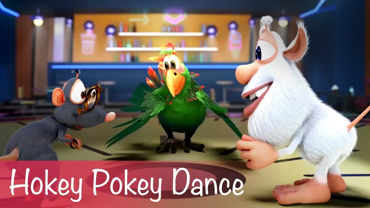 Booba - Dans Hokey Pokey - Bölüm 23 - Çocuklara Özel