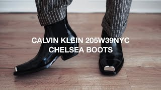 Video THE BEST CHELSEA BOOTS (Calvin Klein 205W39NYC Metal Cap Boot Review) download MP3, 3GP, MP4, WEBM, AVI, FLV Juni 2018