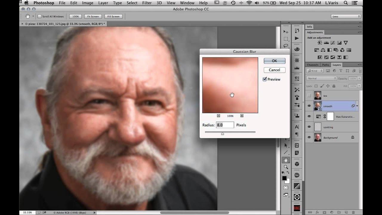 Shiny skin retouch in photoshop varis youtube baditri Image collections
