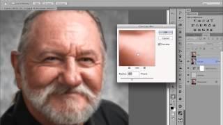 Shiny Skin Retouch in Photoshop - www.varis.com