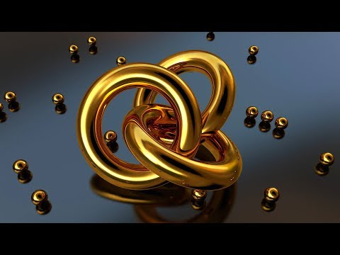 Cinema 4D - Ultra Realistic Gold Material Tutorial