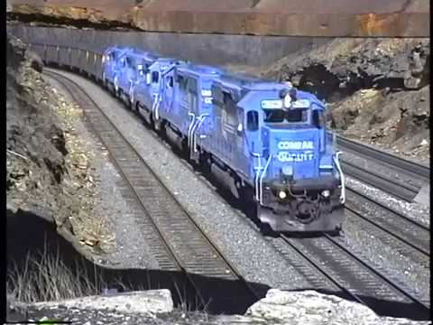 Conrail West Slope 1999