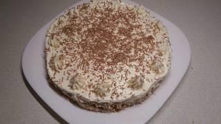 Торт десерт без выпечки Тает во рту