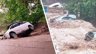 1 человек пропал, 19 пострадали. Страшный потоп разрушает Крым