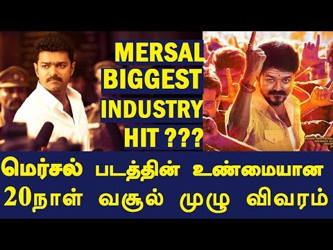Mersal Biggest Industry HIT ??? | Mersal 20 Days Worldwide Boxoffice Collection | Full Report
