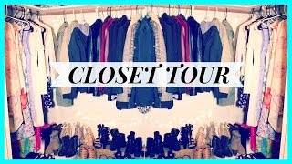 My Walk-in Closet Tour (organization Tips) | Fashionbyally
