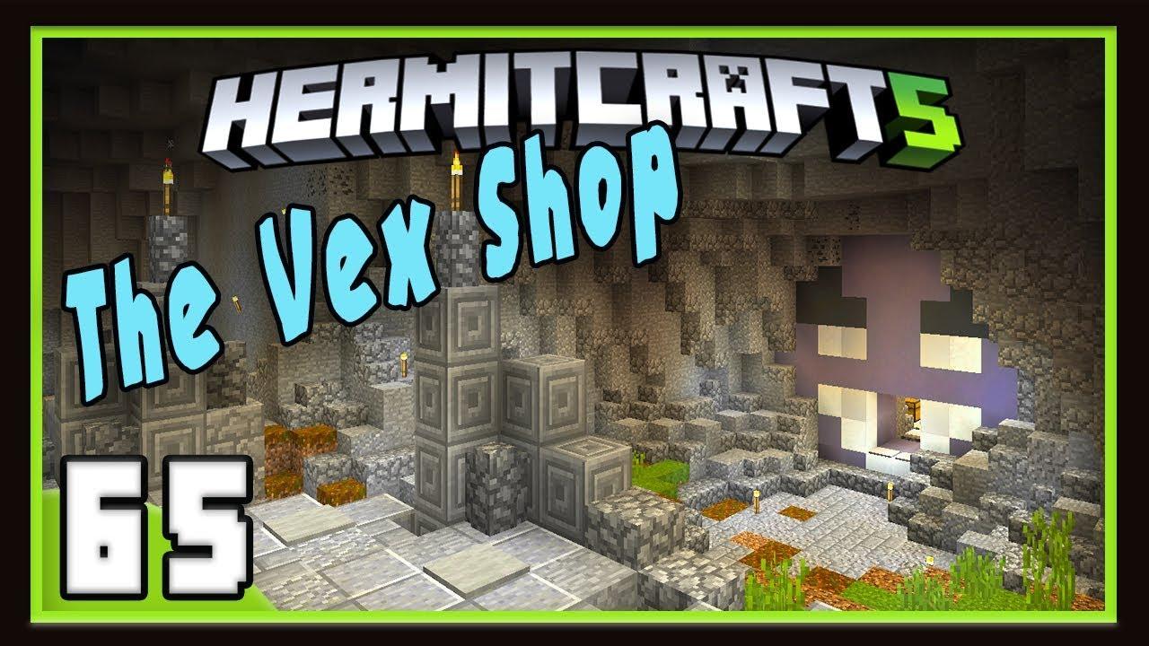 HermitCraft Season 122: The Vex Merch Shop Now Open! (Minecraft 12.122)