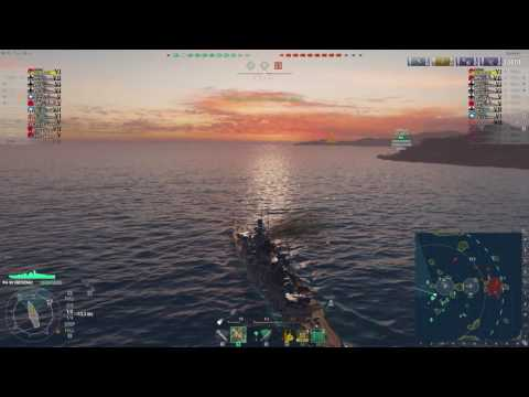#Epic Game - World of Warships - Gneisenau #1 - 3 BBs vs 1 BB, why not!