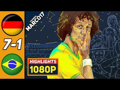 🔥 Германия - Бразилия 7-1 - Обзор Матча Полуфинал Чемпионата Мира 08/07/2014 HD 🔥
