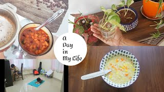 A Day In My Life || Mixed Vegetable Curry || Dinner Soup || Anu's Kitchen