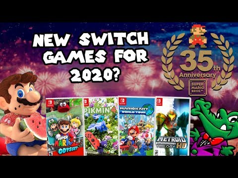 Super Mario Odyssey 2 Mario Kart 9 Pikmin 4 Could We See These Switch Games In 2020
