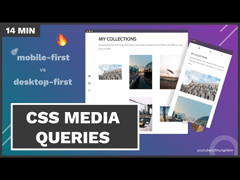 Learn CSS Media Queries (mobile-first Vs Desktop-first) Through Practical Tasks - CSS Tutorial