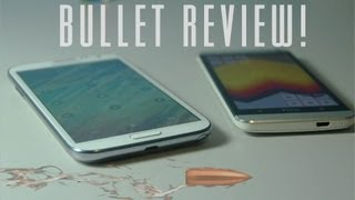 Samsung Galaxy Note II VS HTC ONE - Bullet Review, I will NOT waste your time.