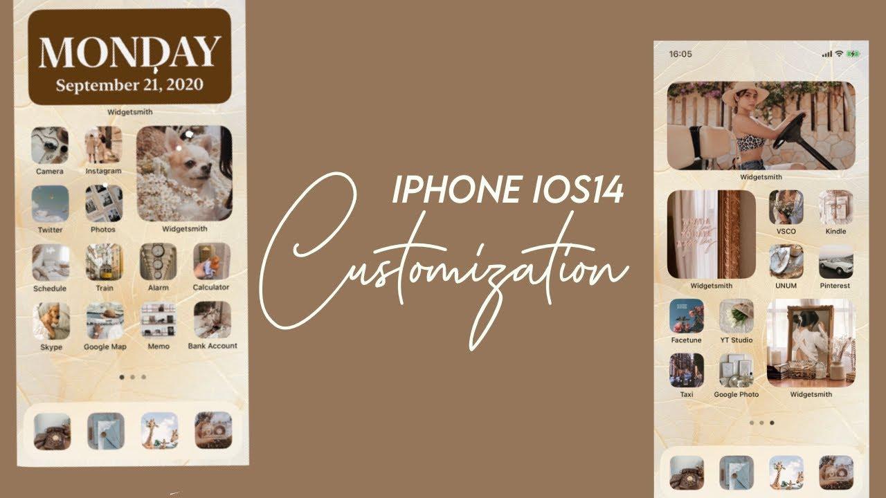 画面 iphone ios14 ホーム おしゃれ