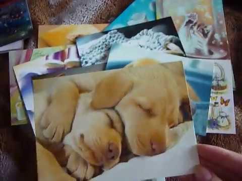 [ОБЗОР] Почтовые открытки из сайта DECARD.COM.UA