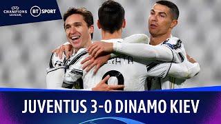 Juventus v Dinamo Kiev (3-0) | Champions League Highlights
