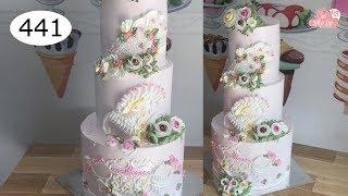chocolate cake decorating bettercreme vanilla (441) Học Làm Bánh Kem Đơn Giản Đẹp - Mùa Xuân (441)