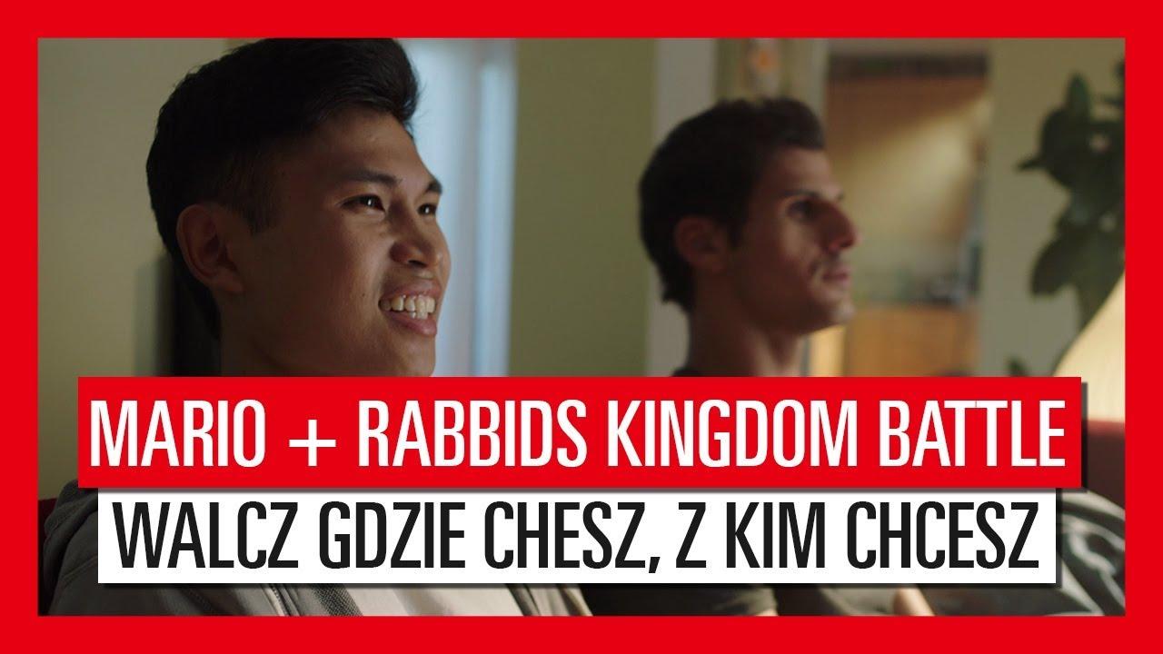 Mario + Rabbids Kingdom Battle – Walcz gdzie chcesz, z kim chcesz