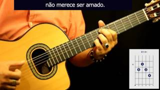 "Cómo tocar ""Insensatez"" en guitarra, de Tom Jobim / How to play ""how insensitive"" on guitar"