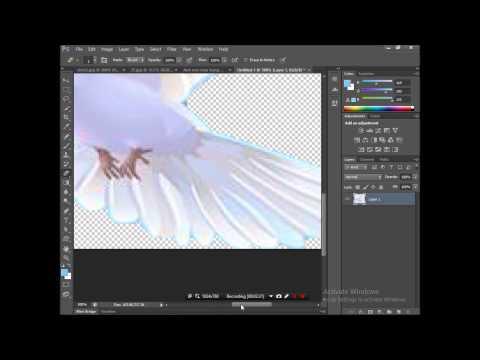 Tạo ảnh với nền trong suốt bằng Photoshop