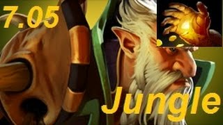 How to Jungle Lone Druid to a Hand of Midas in Patch 7.05 : DotA 2 Guides