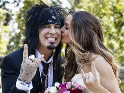 go inside motley crue rockers dream wedding youtube