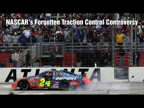 NASCAR's Forgotten Traction Control Controversy