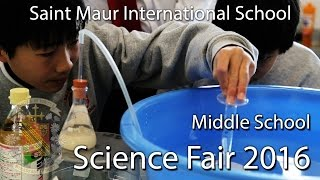 Science - Middle School Science Fair 2016