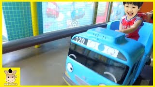Tayo bus тайо автобус Indoor Playground Fun for Kids and Family Play Rainbow Color |MariAndKids Toys