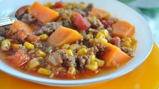 Southwestern Soup- Easy Family One-pot Meal (like Chili)