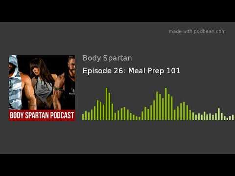 Download Episode 26: Meal Prep 101