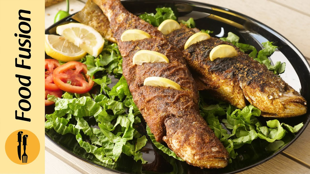 Download Balochi Fish Fried & Grilled Recipe By Food Fusion
