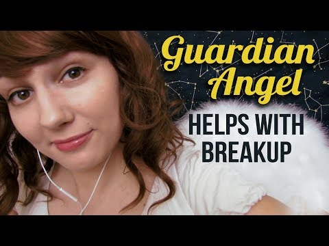 ASMR Chaotic Guardian Angel Helps with Breakup Roleplay