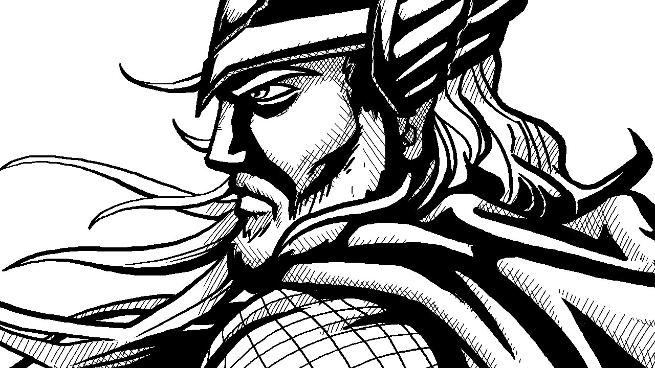Line Art Shading : How to draw comic book style ink digital linework and