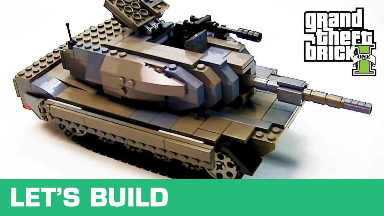 lego let 39 s build panzer youtube. Black Bedroom Furniture Sets. Home Design Ideas