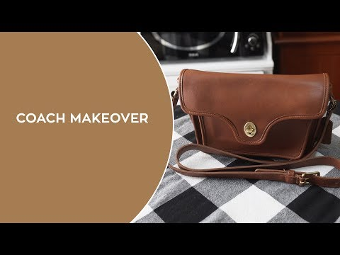 Vintage Coach Bag Cleaning and Restoration