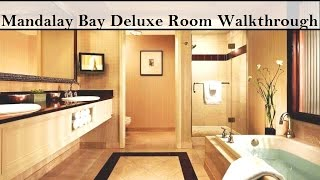 Mandalay Bay Vegas Deluxe Room Walkthrough - Fab Comfort